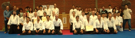 November 2014 Iwama Ryu Aikido Australia Dan Grading Group Photo