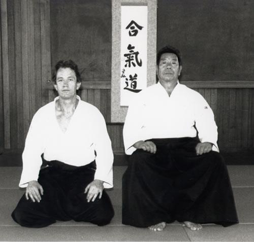 Saito Sensei & Field Sensei