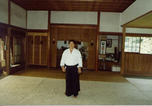 1982 Morihiro Saito at the Iwama Dojo