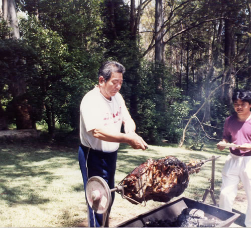1985 Saito Carving in Sydney