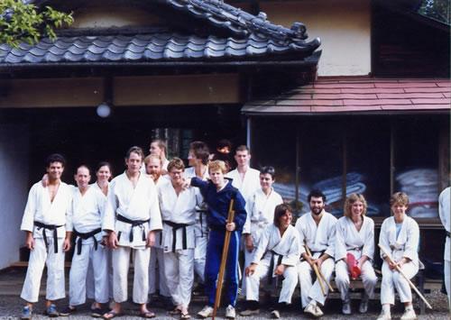 1987 Gaigin uchi & soto deshi after asa keiko
