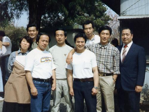 1987 Watanabe, Meijima, Owada, Nemoto, Akiyama, R.Inagaki, Umisawa