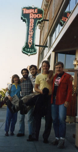 1987 with Kim Peuser and others in San Fransisco