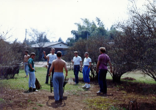 1987 Work party