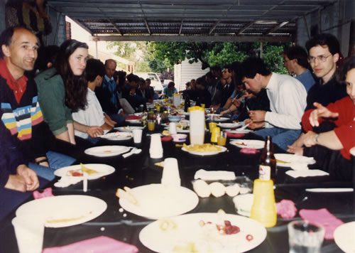 1989 Dojo Party at Loch St Kew
