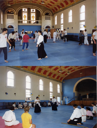 1990 Field Aikido at St.John's East Melbourne