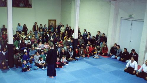 1992 Opening of Fitzroy Dojo July