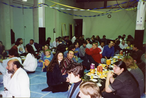 1993 Field Aikido Grading Party