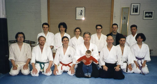 1997 Field Sensei with Ethan Weisgard and Deshi