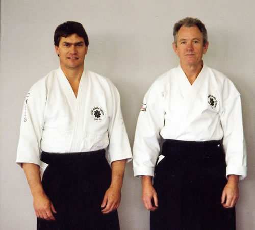 2001 with Chris Noller and Grampians Aikido