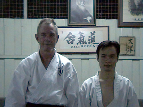 2002 Field Sensei with David Mok in KL