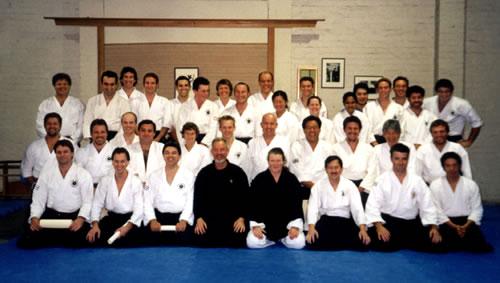 2003 1st Iwama Ryu Aikido Australia Dan Certificate Presentation