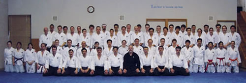 2003 August Kyu Grading