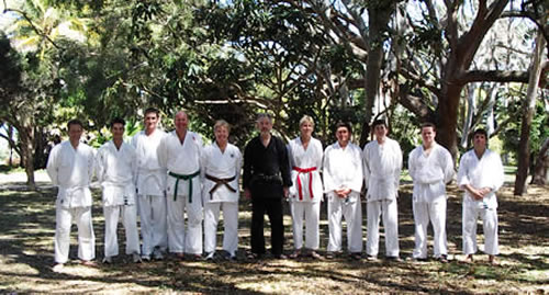 2003 September Kyu Grading in Mackay, QLD *