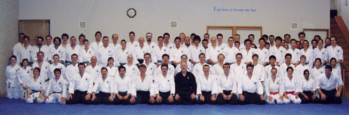 August 2003, All who attended the Kyu Grading