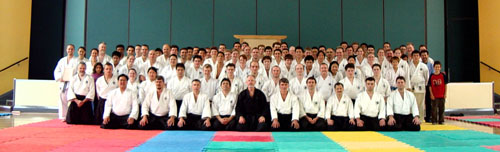 December 2003, All who attended the Kyu Grading
