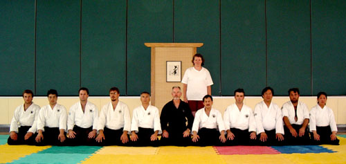Feburary 2004, Kyu ranks and instructors