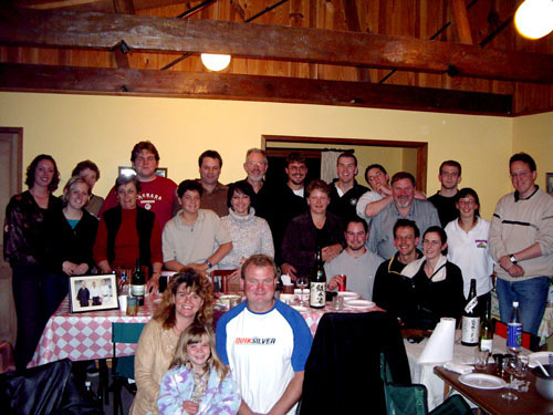 May 2004, Grampians Aikido 1st Shodan Party
