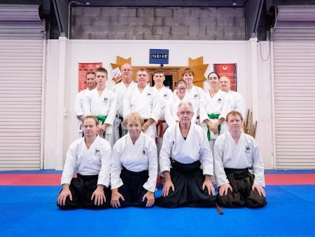 July 2016 Iwama Ryu Aikido Australia Mackay Winter Seminar