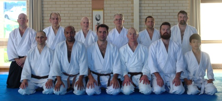 Perth Iwama Ryu Seminar Group Photo August 2018