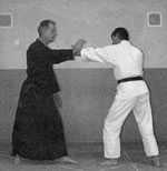 Defence Against Left Jab and Right Cross Combination